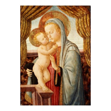 "ZANOBI MACHIAVELLI ""Madonna And Child"" RELIGIOUS PRINT various SIZES, BRAND NEW"