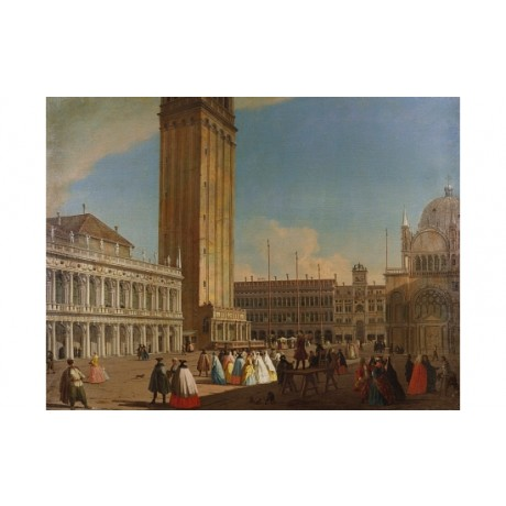 LUCA CARLEVARIJS Piazzetta, Venice Looking North-West various SIZES, BRAND NEW