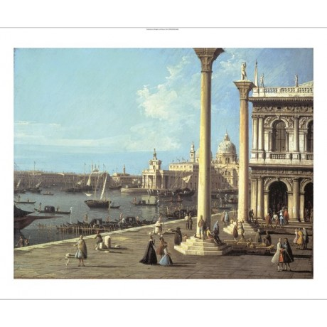 BERNARDO BELOTTO Bacino Di San Marco Venice new CANVAS! various SIZES, BRAND NEW