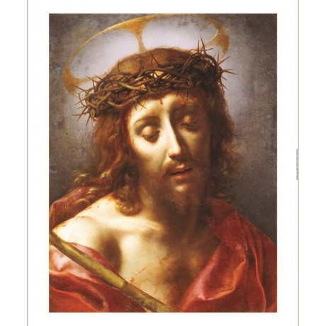 "CARLO DOLCI ""Christ As Man Of Sorrows"" Print Religious various SIZES, BRAND NEW"