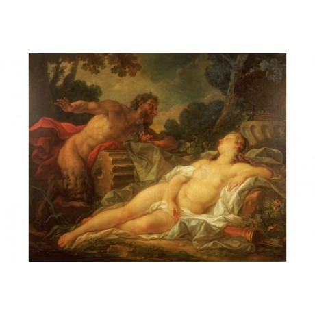 "NOEL NICOLAS COYPEL ""Jupiter And Antiope"" nude PRINT various SIZES available"