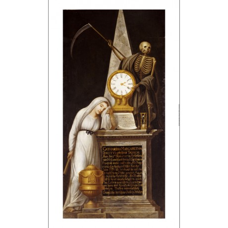 SCHOOL OF HEIDELBERG Funerary Monument PRINT NEW choose SIZE, from 55cm up, NEW