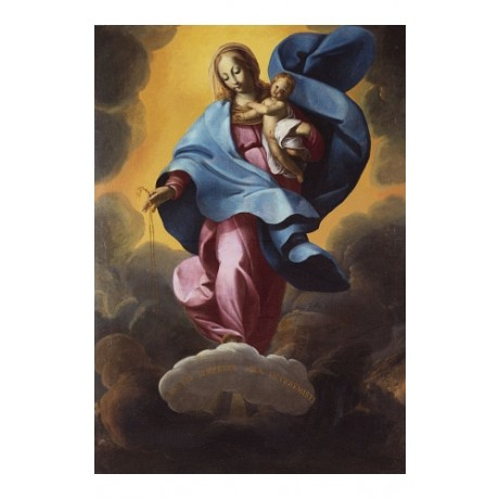CARLO FRANCESCO PANFILO Madonna Of The Rosary ON CANVAS various SIZES, BRAND NEW