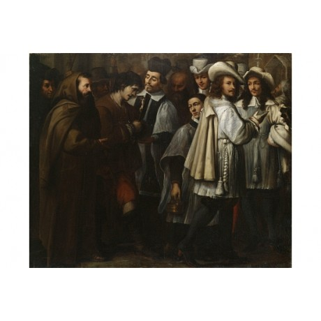 PANFILO NUVOLONE A Convict Led To Execution new CANVAS! various SIZES, BRAND NEW
