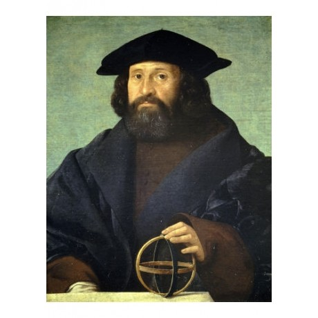 """GIOVANNI CARIANI """"Portrait Of An Astronomer"""" ON CANVAS various SIZES, BRAND NEW"""