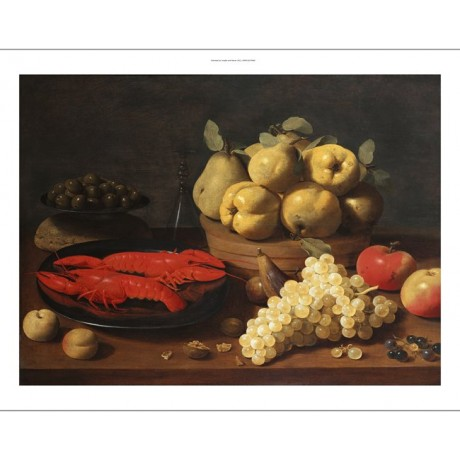 "JACOB VAN ES ""Crayfish On A Pewter Plate"" CANVAS PRINT! various SIZES, BRAND NEW"