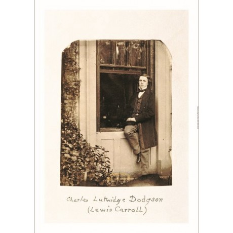 "LEWIS CARROLL ""Lewis Carroll, Self Portrait"" ON CANVAS various SIZES, BRAND NEW"