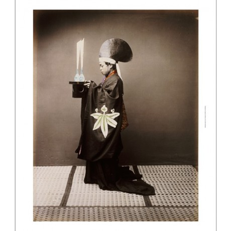 BARON VON RAIMUND STILLFRIED Shinto Priest PRINT choose SIZE, from 55cm up, NEW