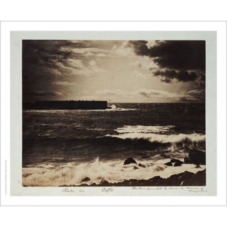 "GUSTAVE LE GRAY ""Great Wave, Sete"" Landscape ON CANVAS various SIZES, BRAND NEW"