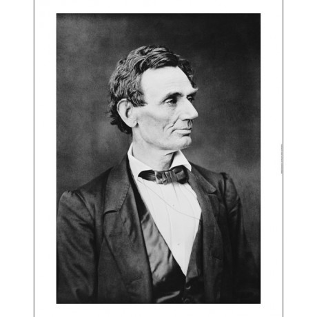 "GEORGE B AYES ""Abraham Lincoln, Circa 1860"" ON CANVAS! various SIZES, BRAND NEW"