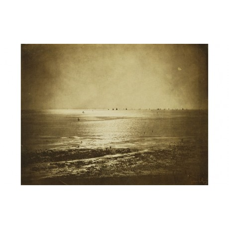"GUSTAVE LE GRAY ""Seascape, Normandy"" new CANVAS print! various SIZES, BRAND NEW"