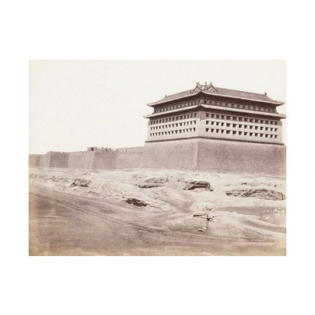 Peking Gateway To Temple china new CANVAS print! choose SIZE, from 55cm up, NEW