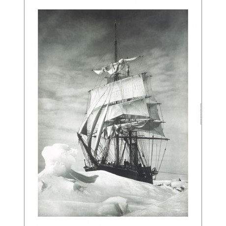 "HERBERT G PONTING ""Terra Nova Icebound"" CANVAS PRINT! various SIZES, BRAND NEW"