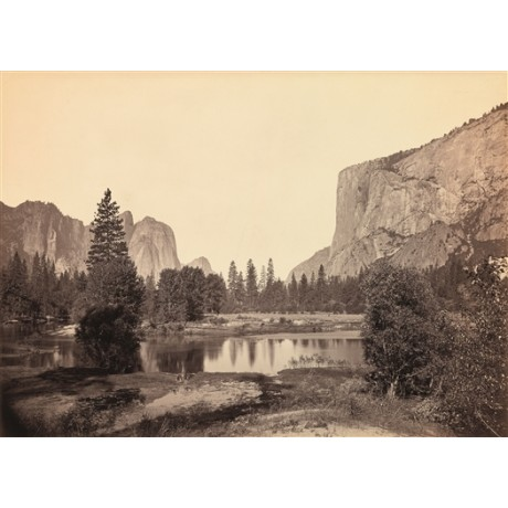 "NEW CANVAS PRINT of CARLETON WATKINS photo ""View Down the Valley, Yosemite"""
