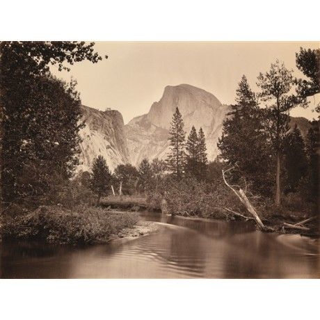 "NEW CANVAS PRINT of CARLETON WATKINS photo of ""Tacoye, The Half-Dome, Yosemite"""