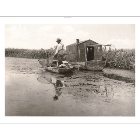 "PETER HENRY EMERSON ""An Eel Catcher's Home, 1886"" NEW various SIZES, BRAND NEW"