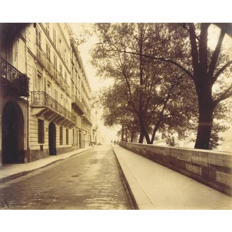 "EUGENE ATGET ""18, Quai d'Orleans au No. 20"" CANVAS choose SIZE, from 55cm up"