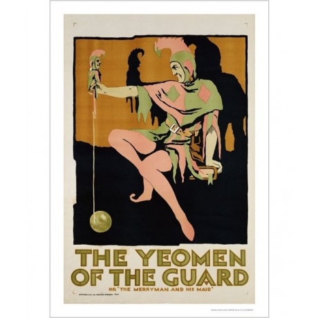 "ANONYMOUS ""Yeomen Of Guard"" portrait ON CANVAS choose SIZE, from 55cm up, NEW"