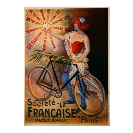 "NOEL DORVILLE ""Societe La Francaise"" print NEW choose SIZE, from 55cm up, NEW"