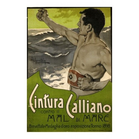 """ADOLFO HOHENSTEIN """"Cintura Calliano"""" NUDE print choose SIZE, from 55cm up, NEW"""