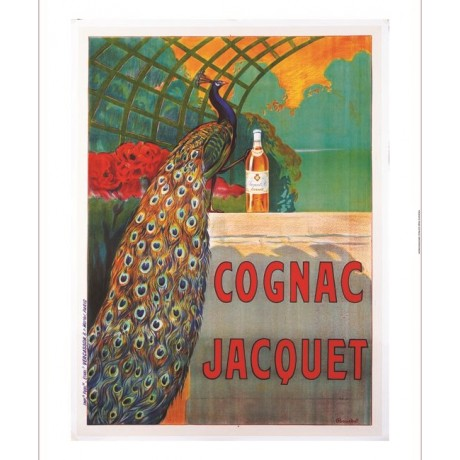 "F. BOUCHET ""Cognac Jacquet"" print NEW ON CANVAS choose SIZE, from 55cm up, NEW"