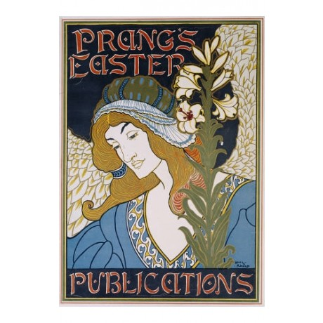 "LOUIS RHEAD ""Prang's Easter Publications"" print NEW various SIZES available, NEW"