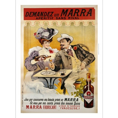 "FRANCISCO TAMAGNO ""Demandez Un Marra"" print NEW choose SIZE, from 55cm up, NEW"