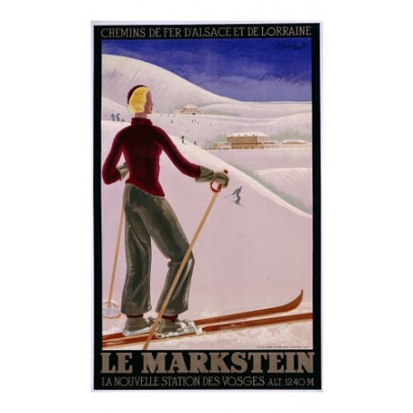 "ANONYMOUS ""Le Markstein"" Sport CANVAS ART ! choose SIZE, from 55cm upwards, NEW"