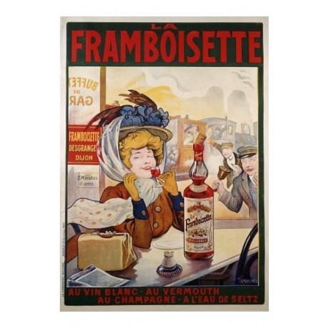"FRANCISCO TAMAGNO ""La Framboisette"" print NEW choose your SIZE, 55cm to X LARGE"