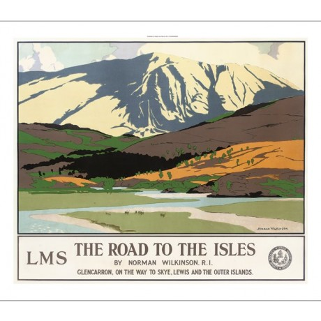 "NORMAN WILKINSON ""Road to the Isles Glencarron Skye"" various SIZES available"