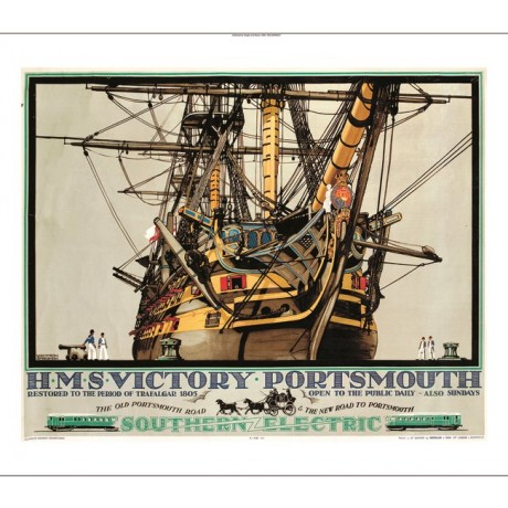"KENNETH SHOESMITH ""HMS Victory Portsmouth"" nelson ship various SIZES available"