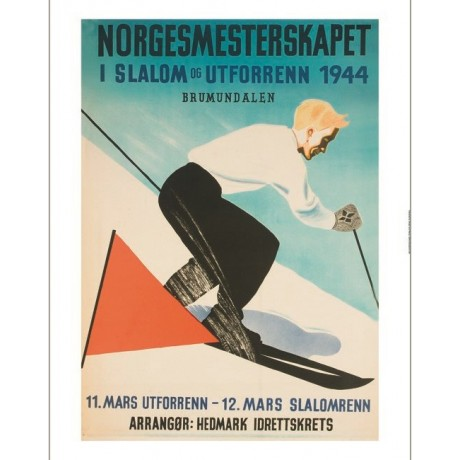 Norgesmesterskapet norway skiing tourism NEW CANVAS various SIZES available, NEW